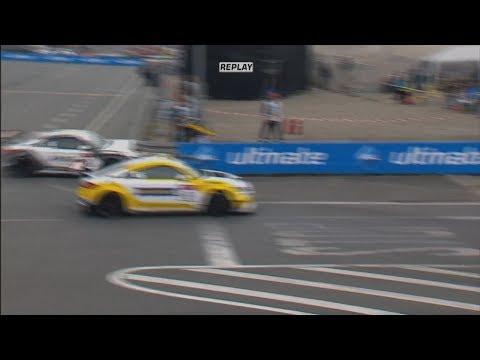 Audi Sport TT Cup 2017. Race 2 Norisring. Start Crashes etc