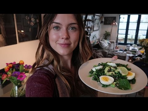 Cook with me Food Vlog | healthy breakfast, lunch & dinner!