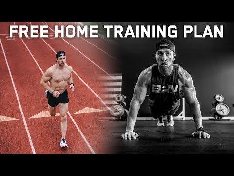FREE Home Training Workout Plan!!
