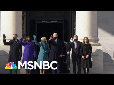 Joe Biden, Kamala Harris Arrive At The Capitol On Inauguration Day | MSNBC