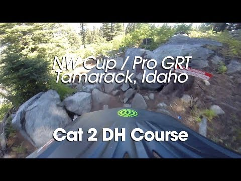 Course Preview - Cat 2 DH - NW Cup / Pro GRT Tamarack, Idaho