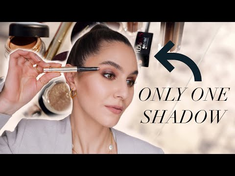 One-and-Done Eyeshadows ✔️ Easy, Effortless Eyeshadow Looks | Karima McKimmie - YouTube