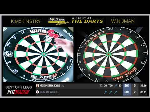 The MODUS A NIGHT AT THE DARTS: WEEK 4 NIGHT 6
