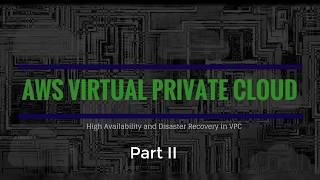 Het maken van Multi-AZ, Muliti-Subnet AWS VPC - Deel II