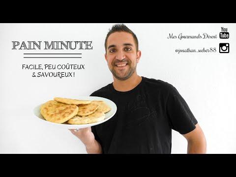pain-maison-minute-à-la-poêle