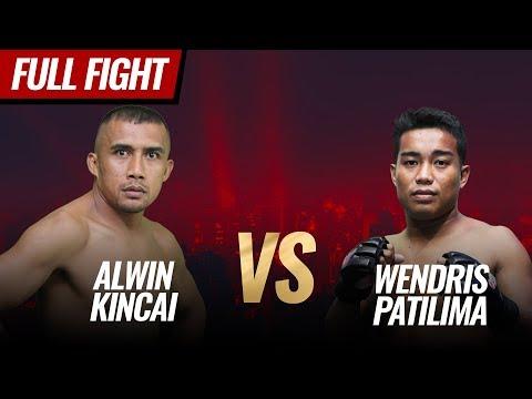 [HD] Alwin Kincai Vs Wendris Patilima    One Pride MMA FN #36