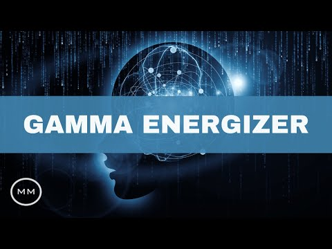 Gamma Energizer - 40 Hz - Clean Mental Energy - Binaural Beats - Focus Music