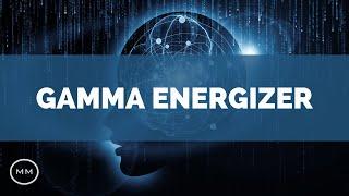 Gamma Brain Energizer - 40 Hz - Clean Mental Energy - Focus Music - Binaural Beats