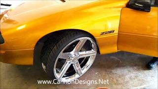 Repeat youtube video 95' Camaro Z28 on 24