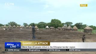 CGTN : More Than 20 People Killed in The Ethiopian Border Region