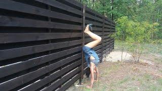 Строим дом своими руками. Забор своими руками. (ПЕРЕЗАЛИВ ВИДЕО)