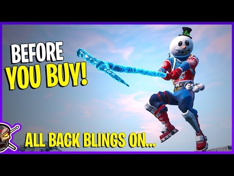 *NEW* SLUSHY SOLDIER Outfit & *ICICLE* Axe! - Before You Buy - Fortnite Season 7