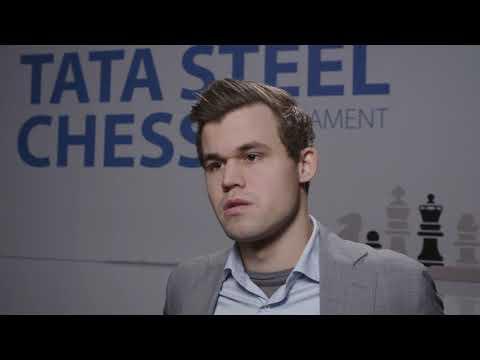 Magnus Carlsen - Winner Tata Steel Chess Tournament 2019