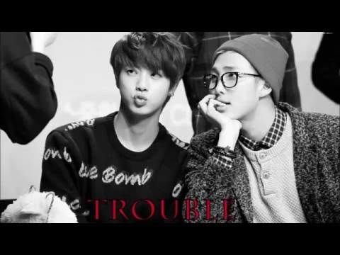 Rapmonster & Jin - Trouble 3D Audio