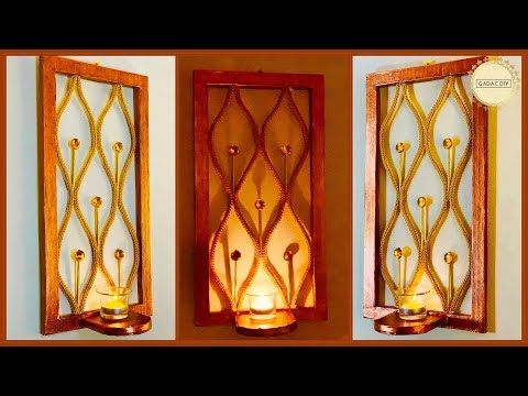 Amazing & Unique Wall Decor| gadac diy| Craft Ideas| Wall decoration Ideas| Wall Hanging| diy crafts