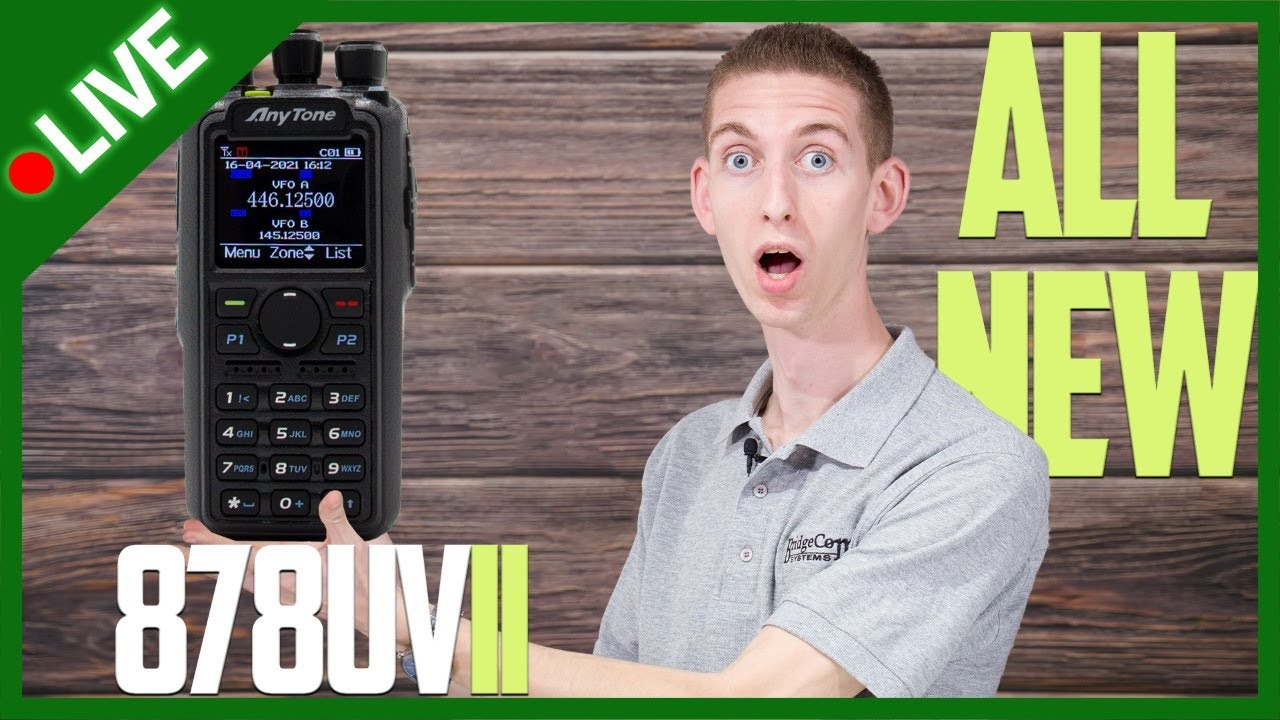 Download AnyTone AT-D878UVII Plus Unboxing and Demo