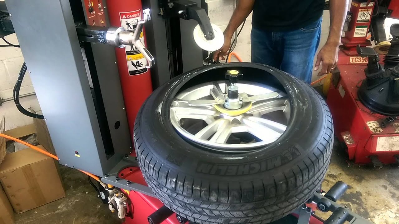 new tire machine