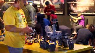 Lego Mindstorms Mars Curiosity Rover @ Kennedy Space Center NASA SD