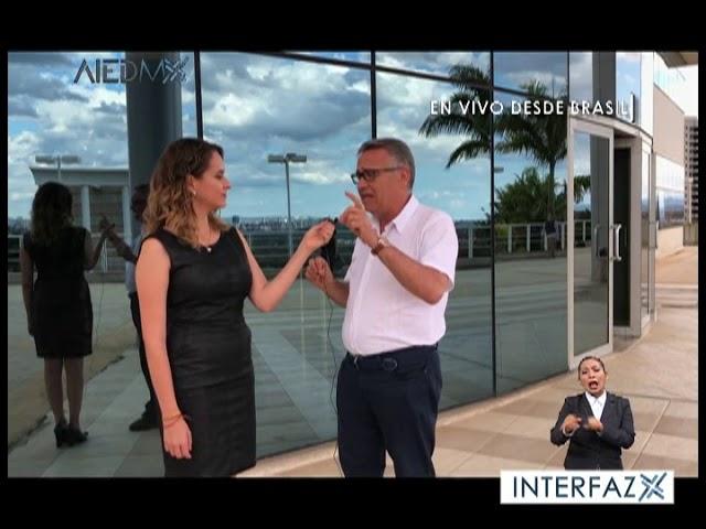 Enlace con Ana Cristina desde San Juan Brasil en TVMorfosis.