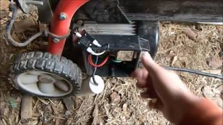trouble shooting an electric log splitter