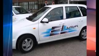 видео Электрическая El Lada получила новую версию