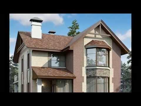 Красивые дома с балконом