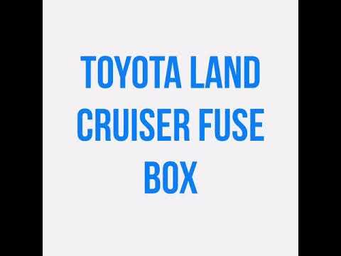 2008 Toyota Land Cruiser Fuse Box Diagram - Wiring Diagram ...