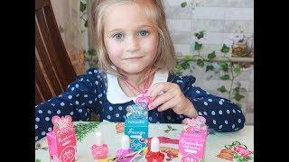 Детская косметика от фирмы  Faberlic.Распаковка.Обзор.