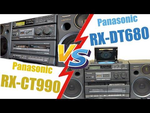 Panasonic RX-DT680 - VS - RX-CT990
