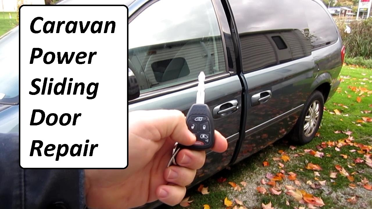 2012 Dodge Charger Wiring Diagram Caravan Power Sliding Door Repair Easy Youtube