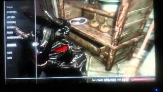 Skyrim - Oghma Infinium Easier Glitch No Bookshelf Required