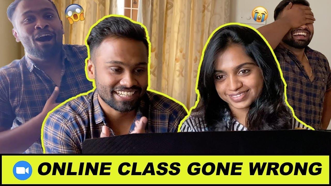 Online class gone wrong..!