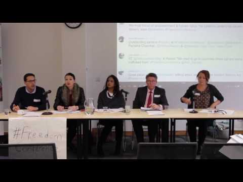 Beyond the Modern Slavery Act – panel discussion at Anti-Slavery International's Freedom Conference