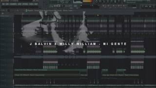 FL STUDIO REMAKE: JBALVIN X WILLY WILLIAM - MI GENTE