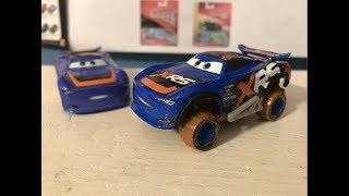 Disney Cars XRS Mud Racing Barry Depedal Review