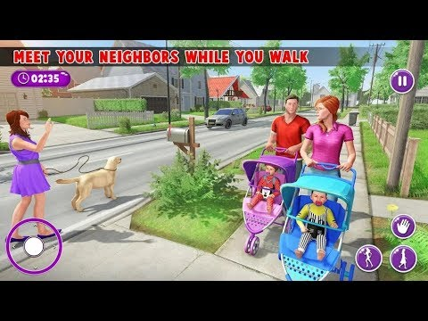 Virtual Mother New Baby Twins Family Simulator Android Gameplay HD / New Adventure Game