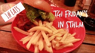 1#EATS: TGI Friday's!(Hej hej everybody! Today I'm going to be talking to you about one of my favorite places to eat in Stockholm. This company has made it's way throughout a ..., 2014-10-23T17:59:53.000Z)