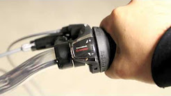 How to use the Shimano grip shifter on your Mobic folding bike.