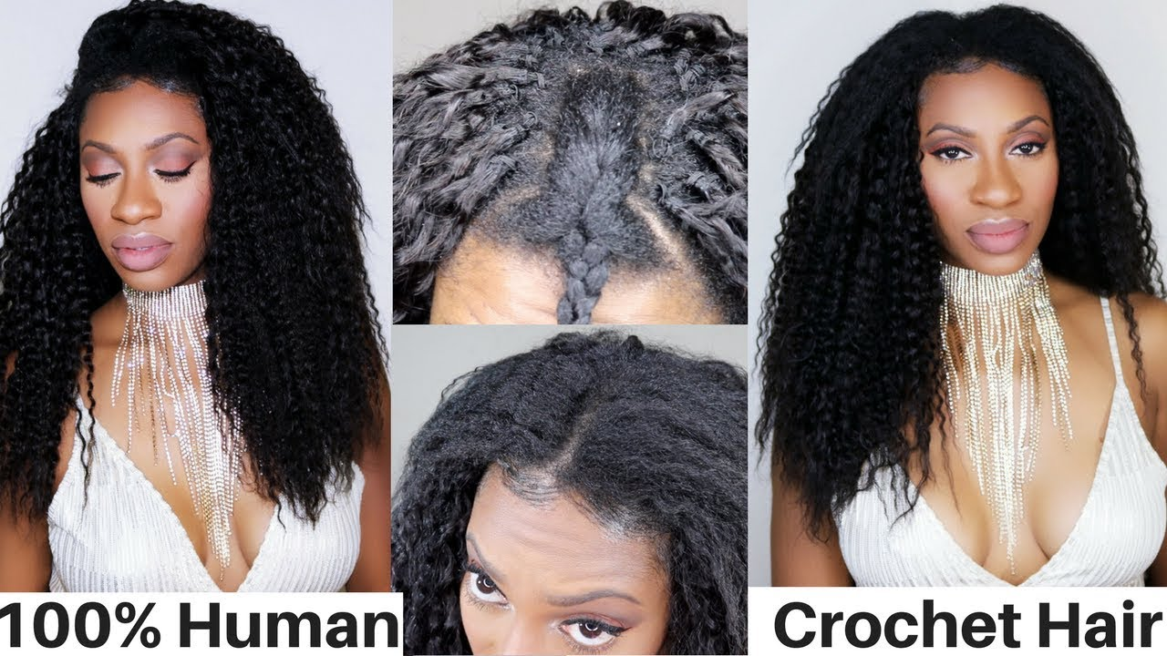 Weirdest Weave Ever Saga 100 Human Hair Knotless Braidless Crochet
