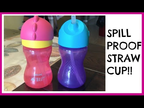 Philips Avent My Bendy Straw Cup Review