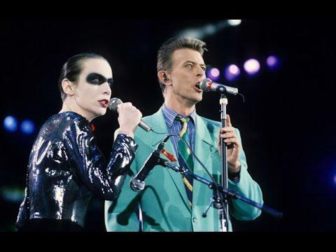 Annie Lennox & David Bowie - Under Pressure + Rehearsals