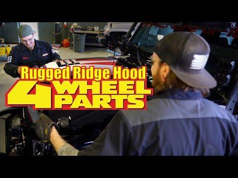 Rubi Tuesday #17 - Rugged Ridge Hood