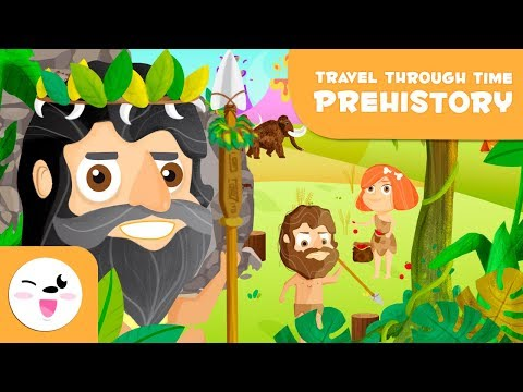 """Prehistory for kids - """"Travel through the time"""""""