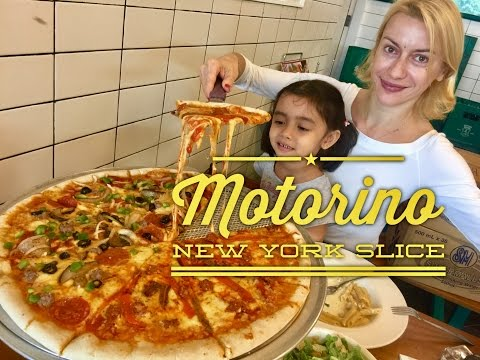 Motorino New York Slice Shrimp and Mushrooms Pizza SM Mall of Asia by HourPhilippines.com