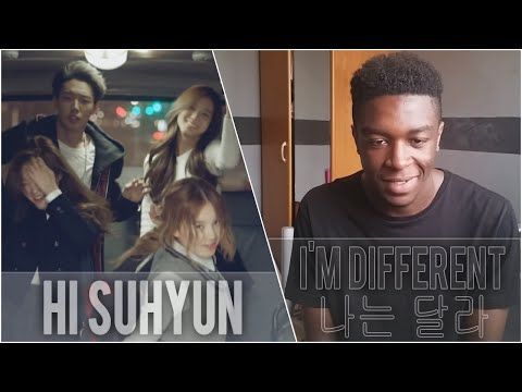 Hi Suhyun - I'm Different (Feat BOBBY) MV Reaction