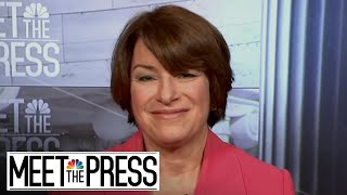 Amy Klobuchar: Concerned That A 2018 Election Hack Could Succeed (Full) | Meet The Press | NBC News