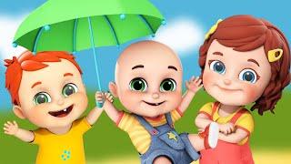 Rain Rain go away | Stay safe | Kids want to play + more nursery rhymes & kids songs - Jugnu Kids