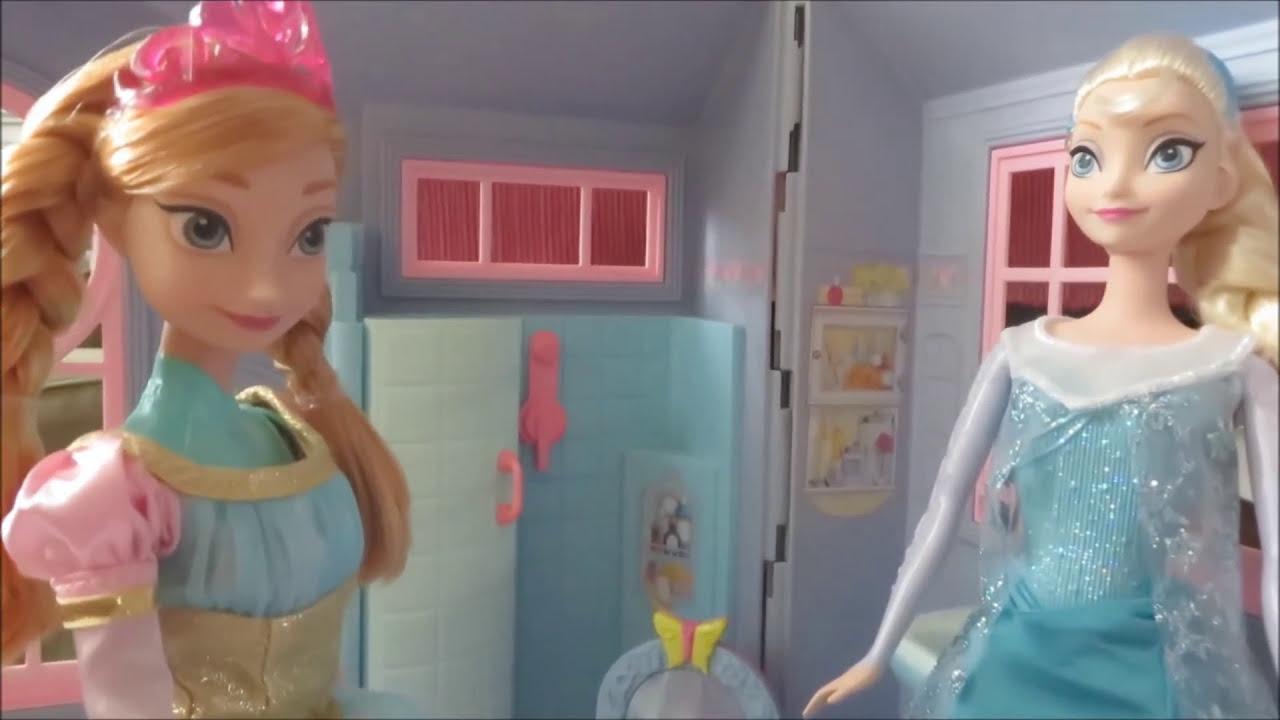 FROZEN Anna & Elsa Barbie Ballroom Prom Dress Up
