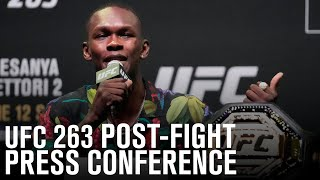 UFC 263: Post-fight Press Conference