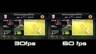 FIFA15 Brasil - Comparação de Gameplay em 30 e 60fps - Simultâneo